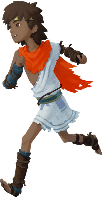 RiME - Character Art - The Boy _Running_RiME - Character Art - The Boy 2